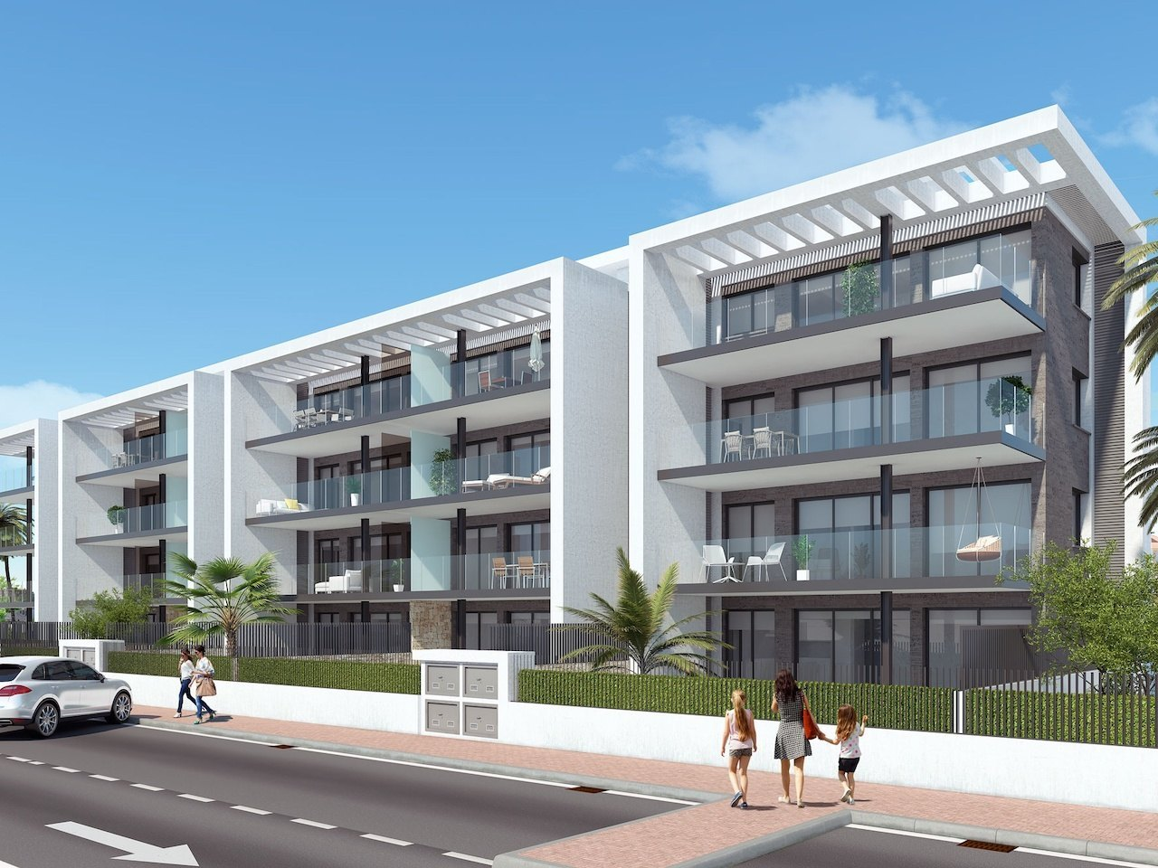 New Build in Javea Arenal