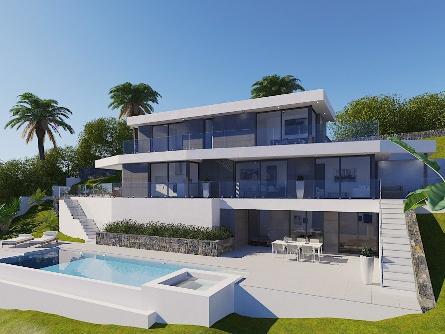 New Build in Javea Villes Del Vent