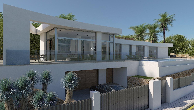 New Build in Javea Villes Del Vent