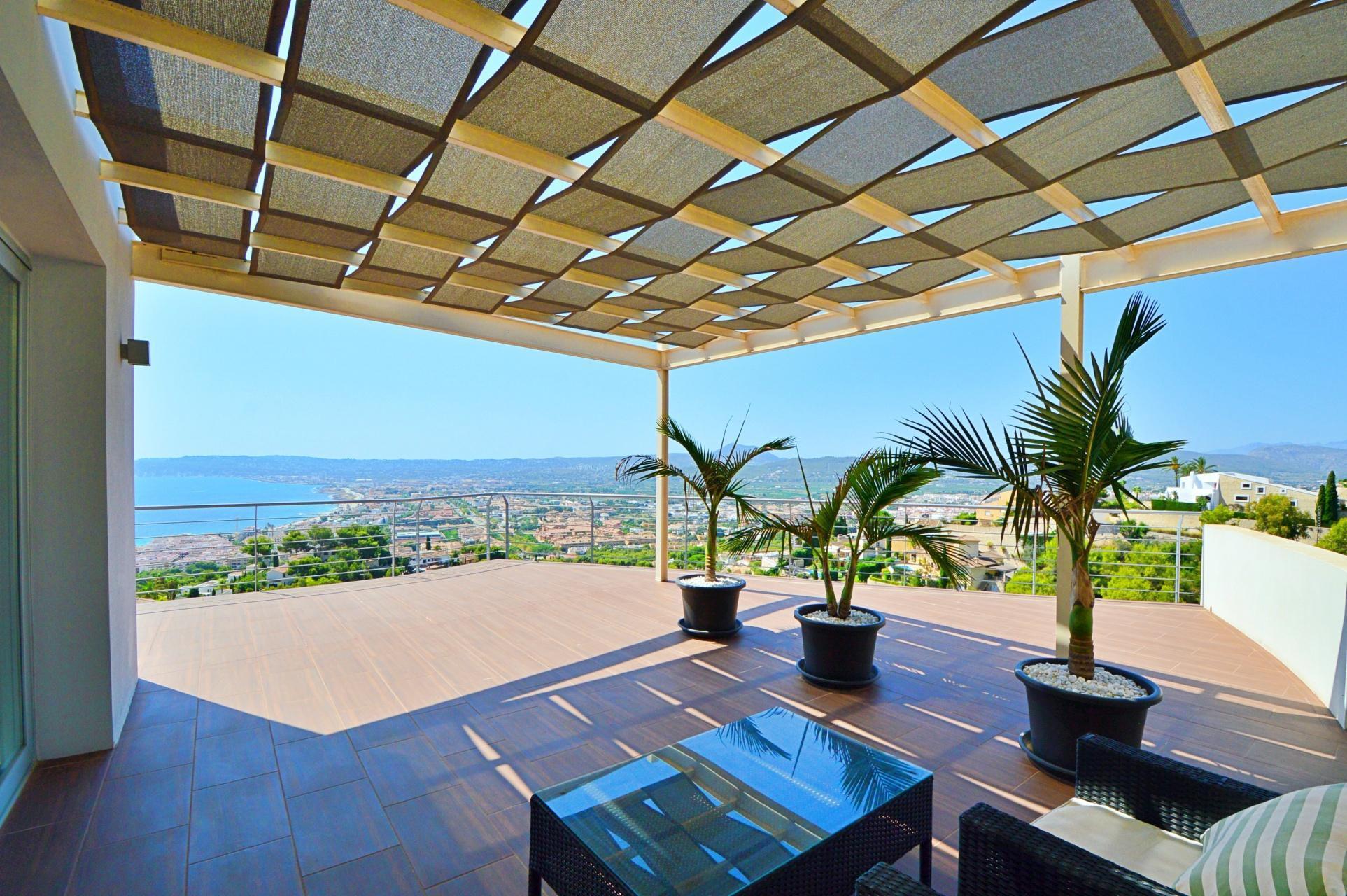Lujo Panorámica Vista Mar Villa Moderna en Venta en Jávea